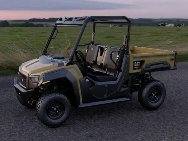Designing the New Cat® Utility Vehicles