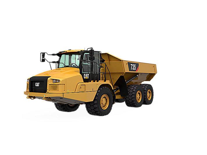 735 Articulated Haul Truck | Caterpillar - Cat