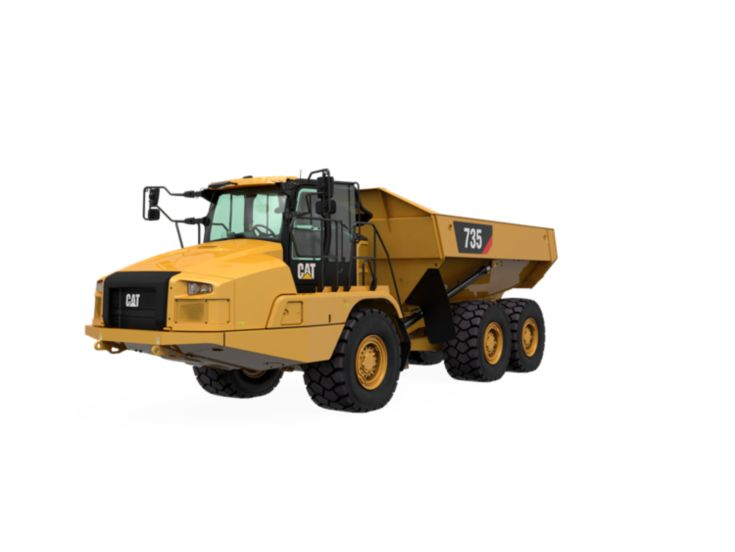 Articulated Trucks - 735
