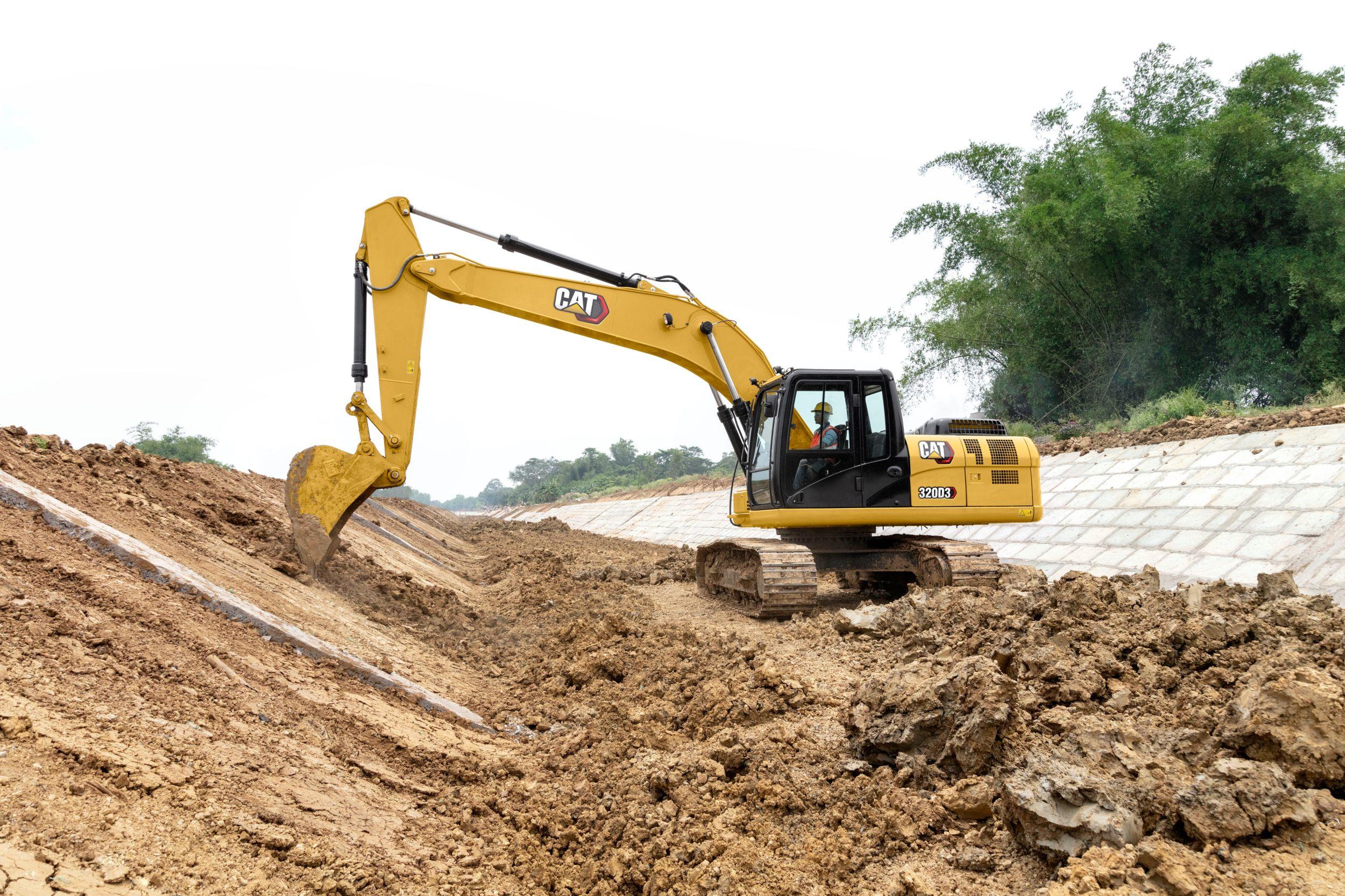 320D3 excavators