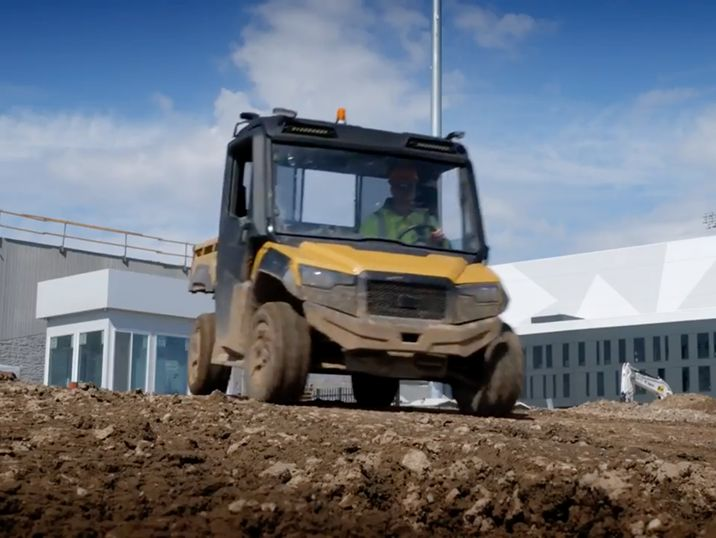 All-New Cat® Utility Vehicle is Put to the Test