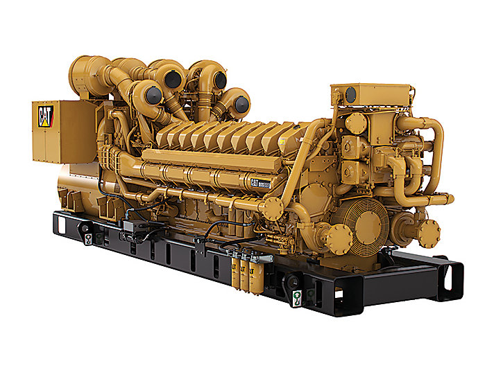 C175-20 Diesel Generator Set Back Left View