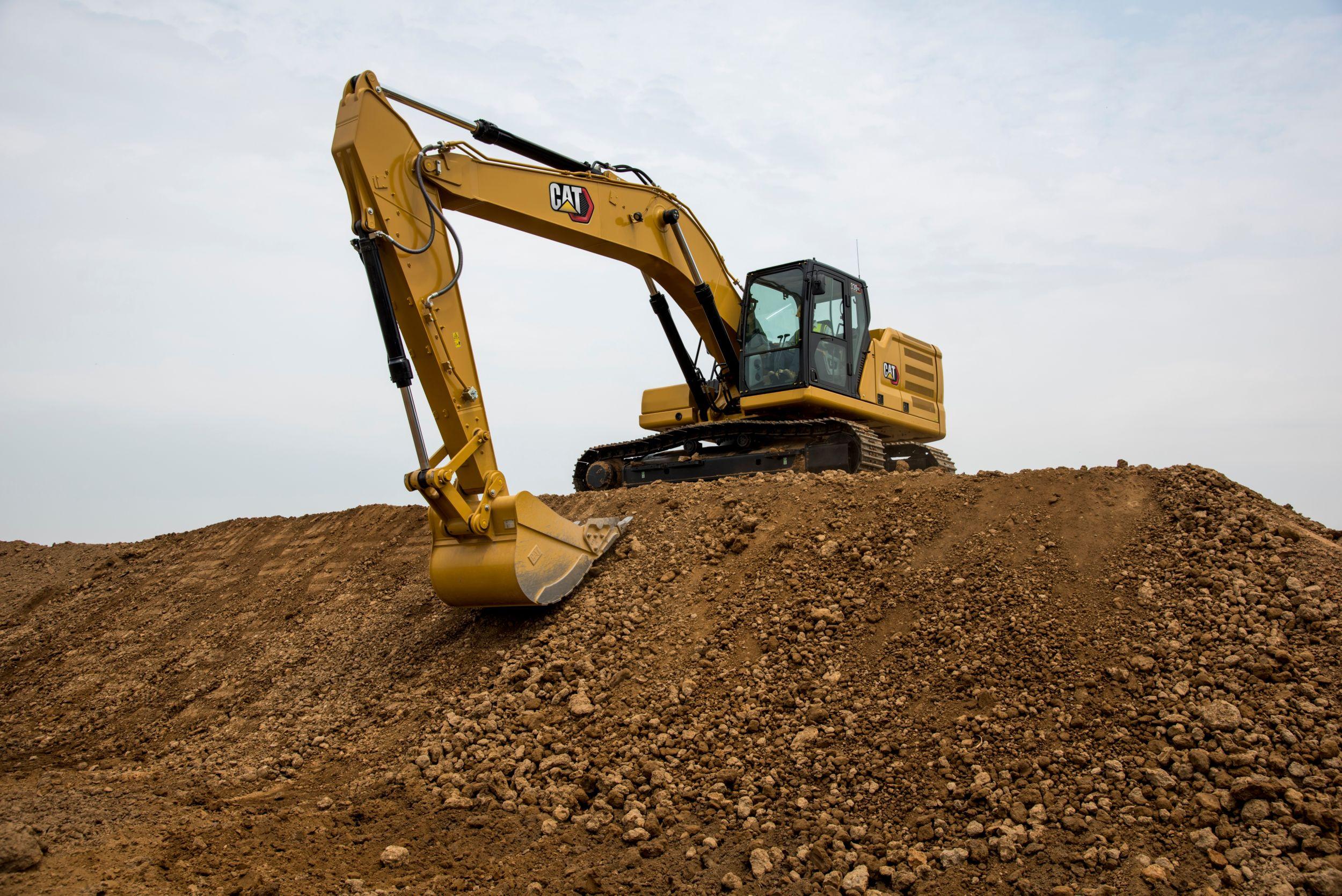 330GC excavators