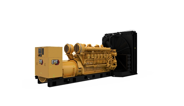 3516B Diesel Generator Sets, Rear Right