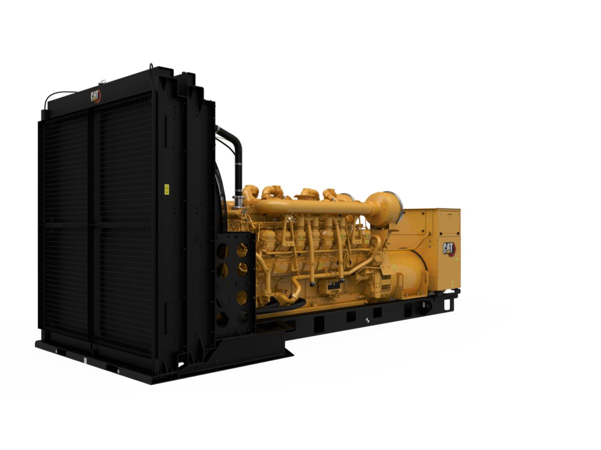 3516B Diesel Generator Sets, Front Right>
