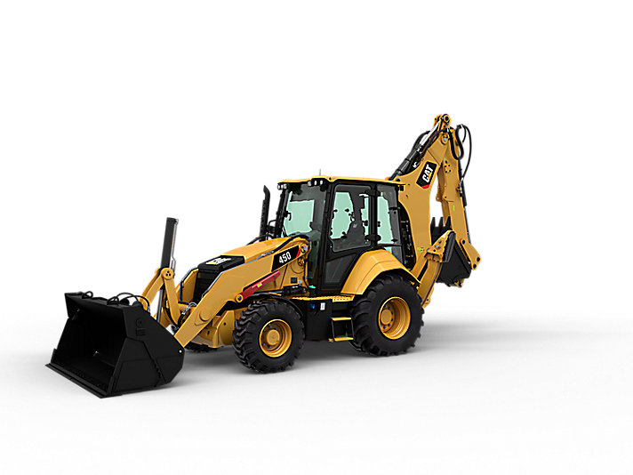 450 Backhoe Loader Center Pivot Cat Caterpillar