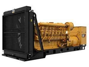 3516 (3516 MUI) Modular Controls Generator Set,  Front Left