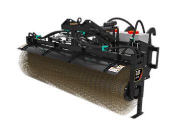 Foto del BA25 Hydraulic Angle Broom 24V with Water