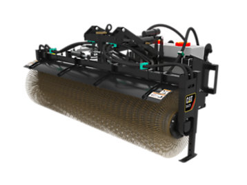 Foto del BA25 Hydraulic Angle Broom 12V with Water