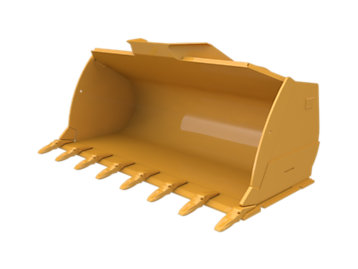 Flat Floor  Bucket 5.6m³ (7.25yd³)Performance Series