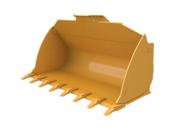 Flat Floor  Bucket 4.8m³ (6.28yd³)Performance Series