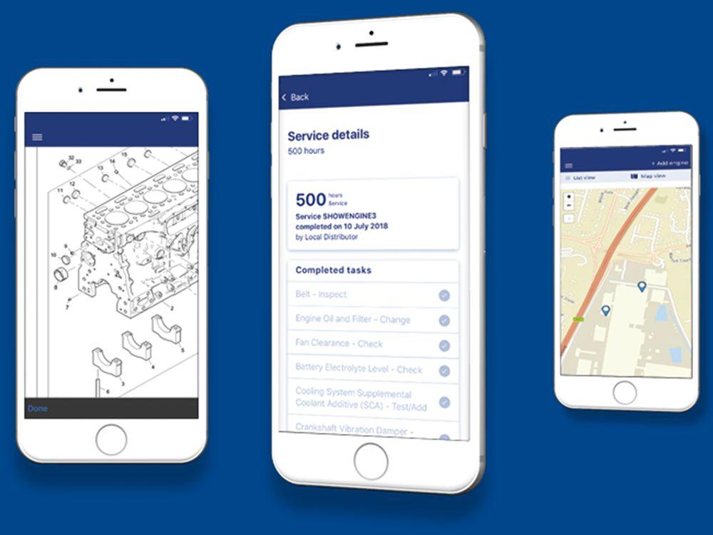 Perkins® My Engine App gets upgrade after reaching 100k Downloads Milestone
