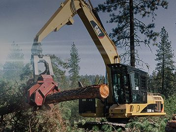 Get 3.99% financing for 48 months on select Cat forestry machines