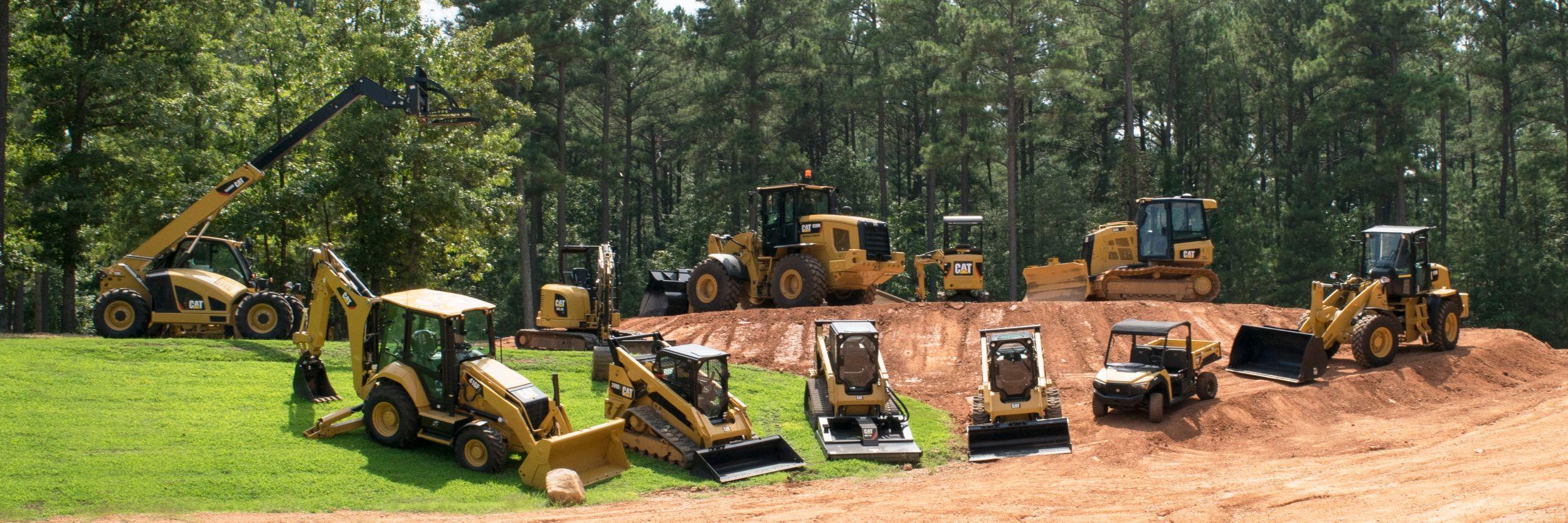 Cat Compact Construction Equipment