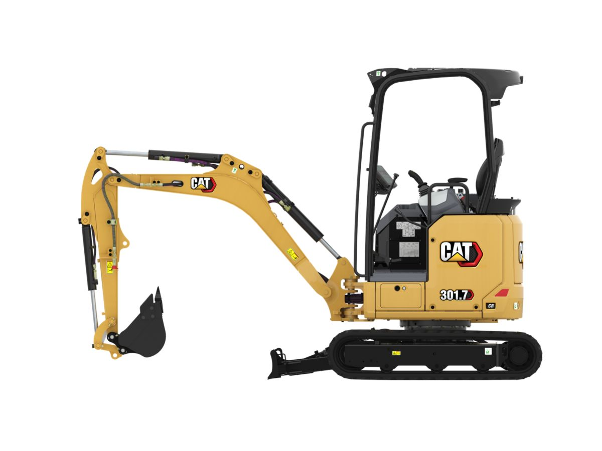 Mini Excavators 301.7 CR