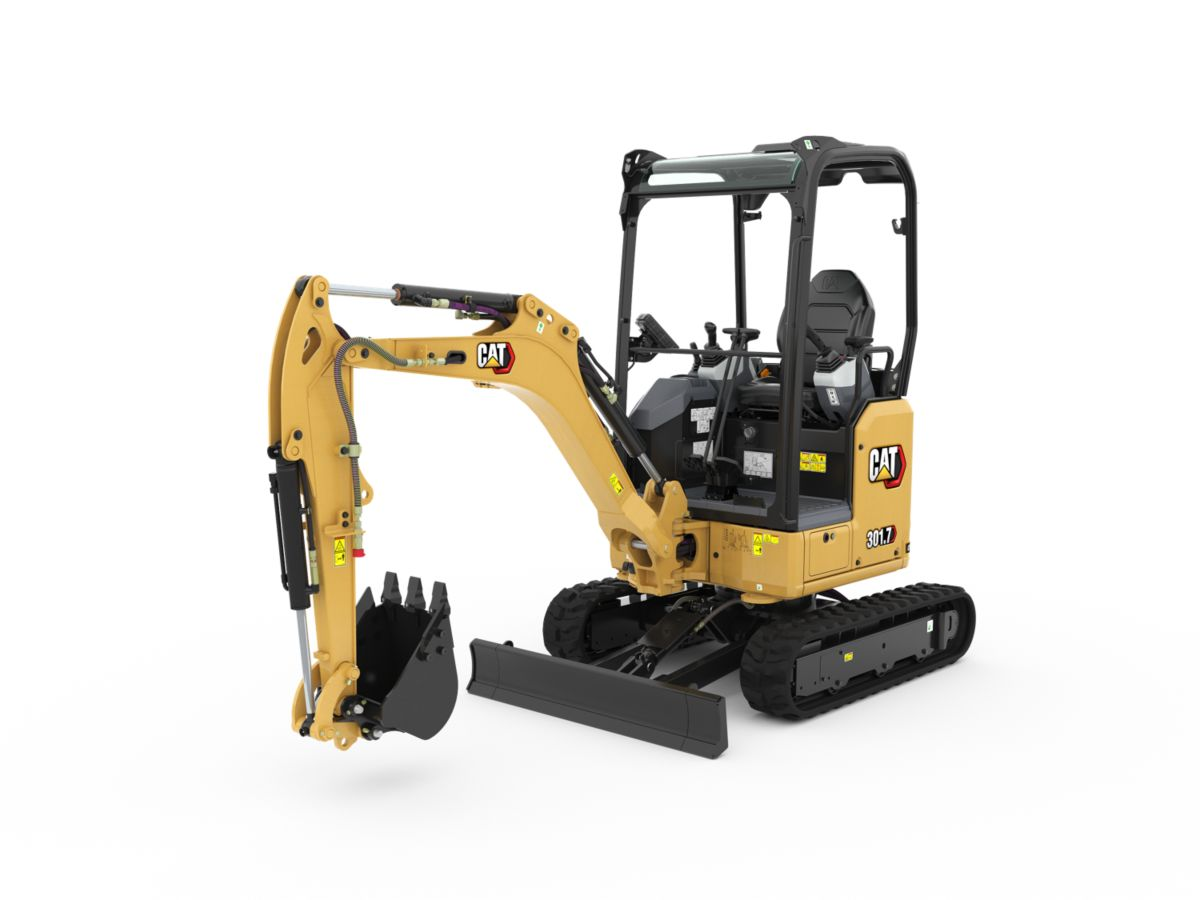 301.7 CR Mini Hydraulic Excavator>