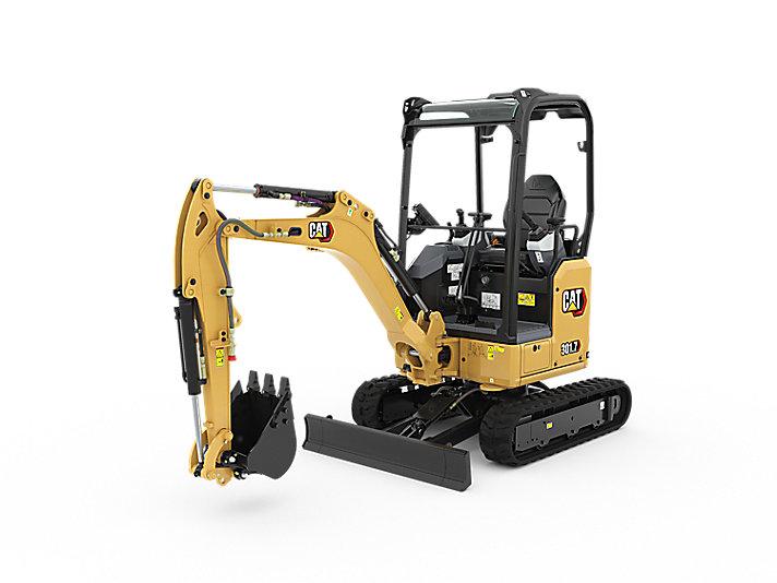 NEW Cat 301.7CR Next Gen' Mini Excavator from as little as £100.89 per week.