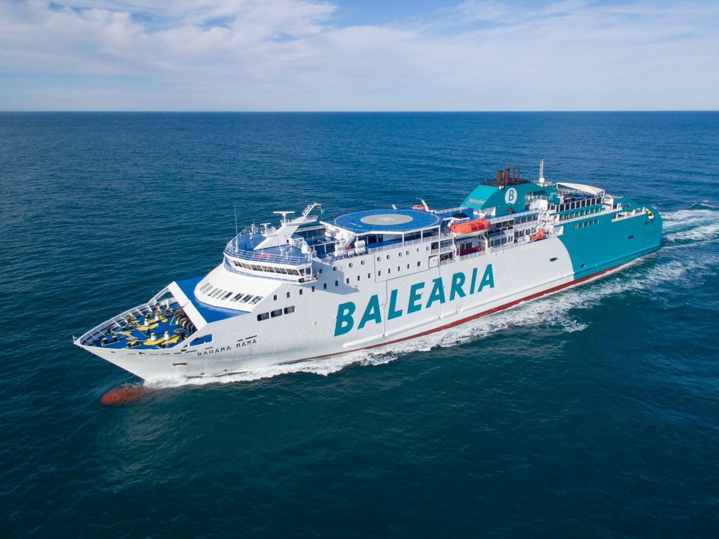 Cat   Mak To Convert 3 Balearia Ferries   Caterpillar