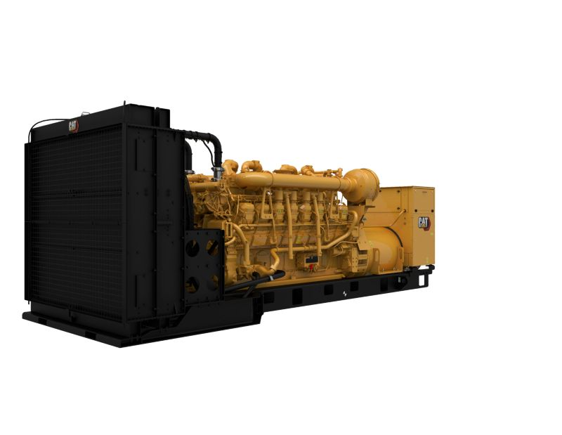 3516 DGB Generator Set Rear Left