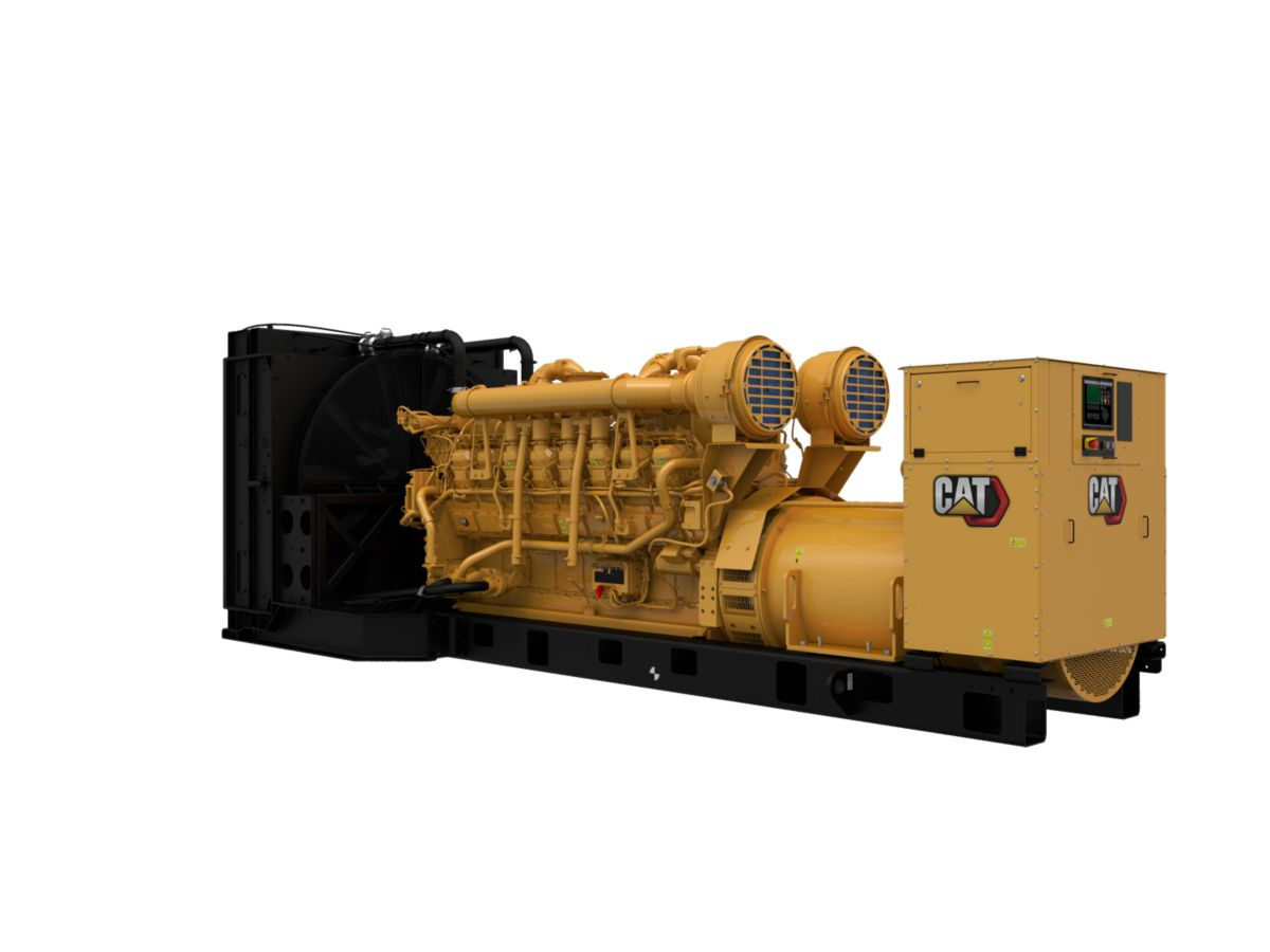 3516 DGB Generator Set Front Left