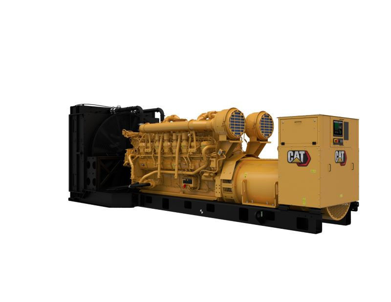 3516 DGB Generator Set Front Left