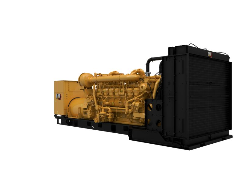 3516 DGB Generator Set Front Right