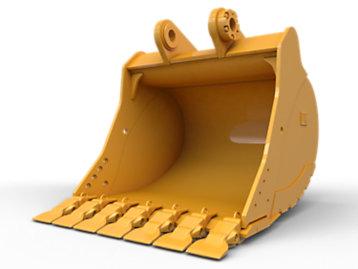 General Duty Wide Tip Bucket 1350 mm (54 in): 552-8283