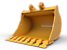 Godet à pointe large à usage normal 1 950 mm (77 in)