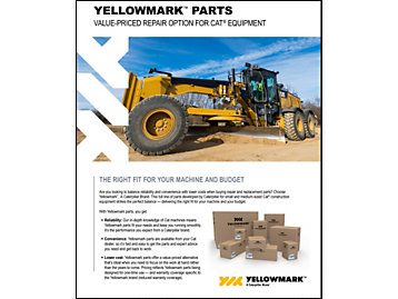 About Yellowmark Parts from Caterpillar | Yellowmark