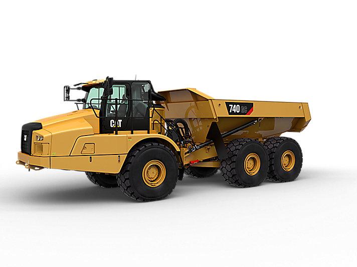 Cat | 740 GC Articulated Haul Truck | Caterpillar
