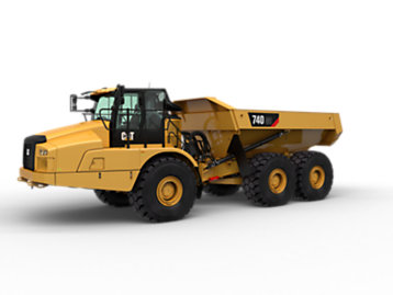 Cat | Articulated Trucks | Articulated Dump Trucks | Caterpillar