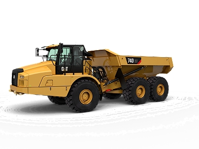 New Caterpillar 740 GC Articulated Truck - Cleveland Brothers Cat