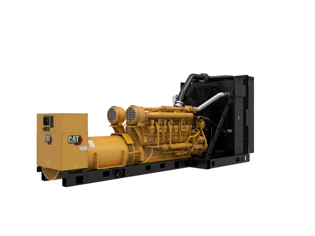3516E Package Genset, Rear Right