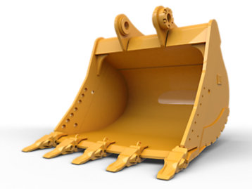 Heavy Duty Bucket 1850 mm (72 in): 528-4660