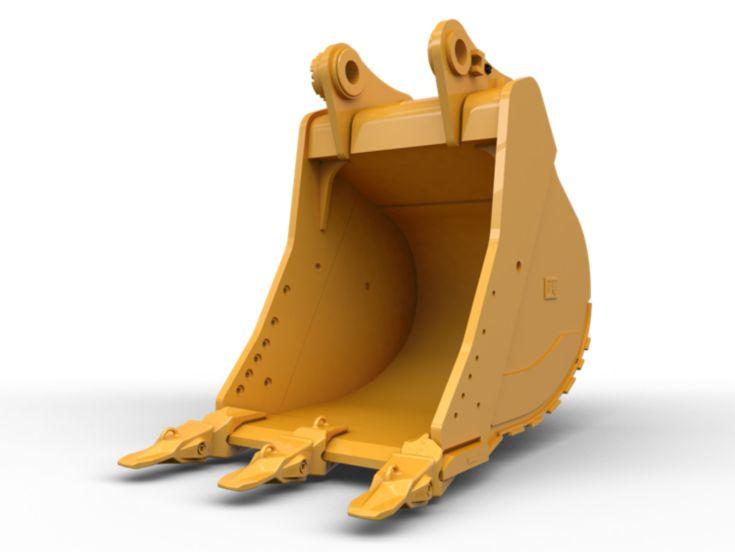 Buckets - Excavator - General Duty Bucket 600 mm (24 in): 558-7935
