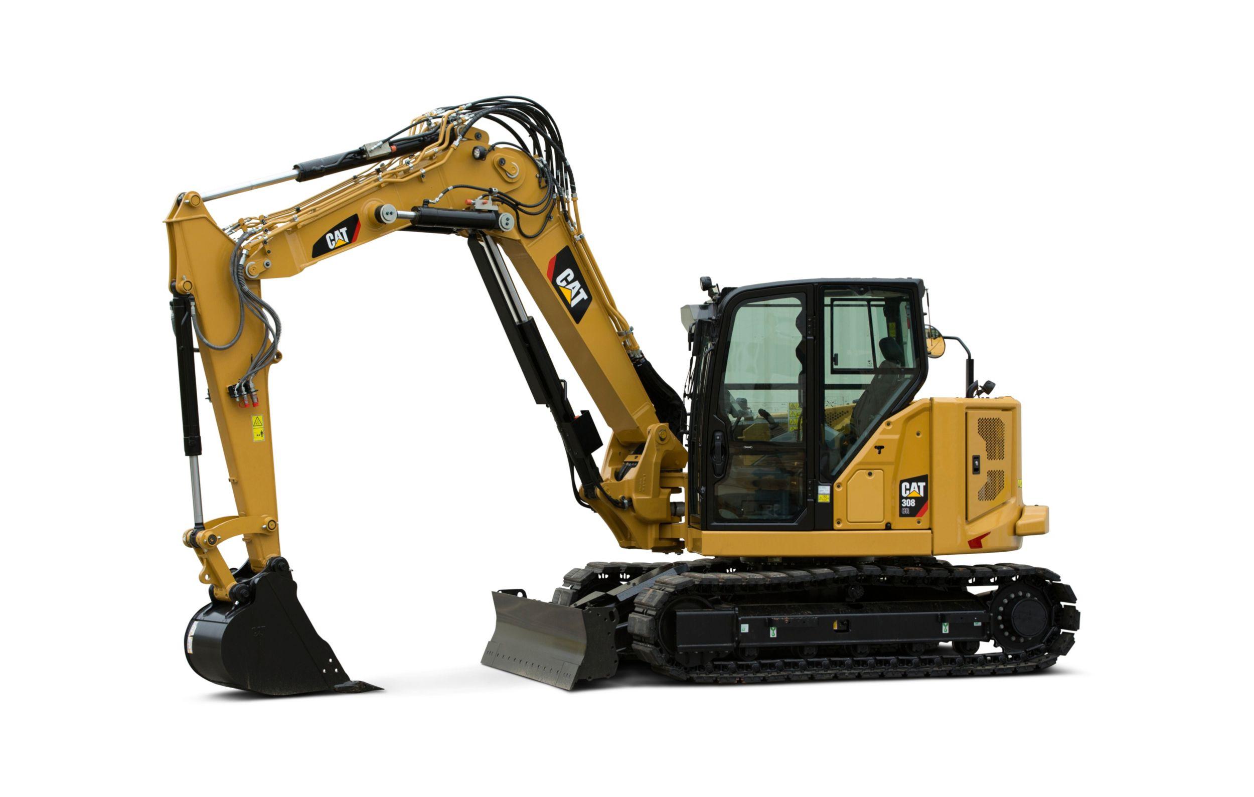 Cat 308 Cr Vab Mini Hydraulic Excavator Caterpillar