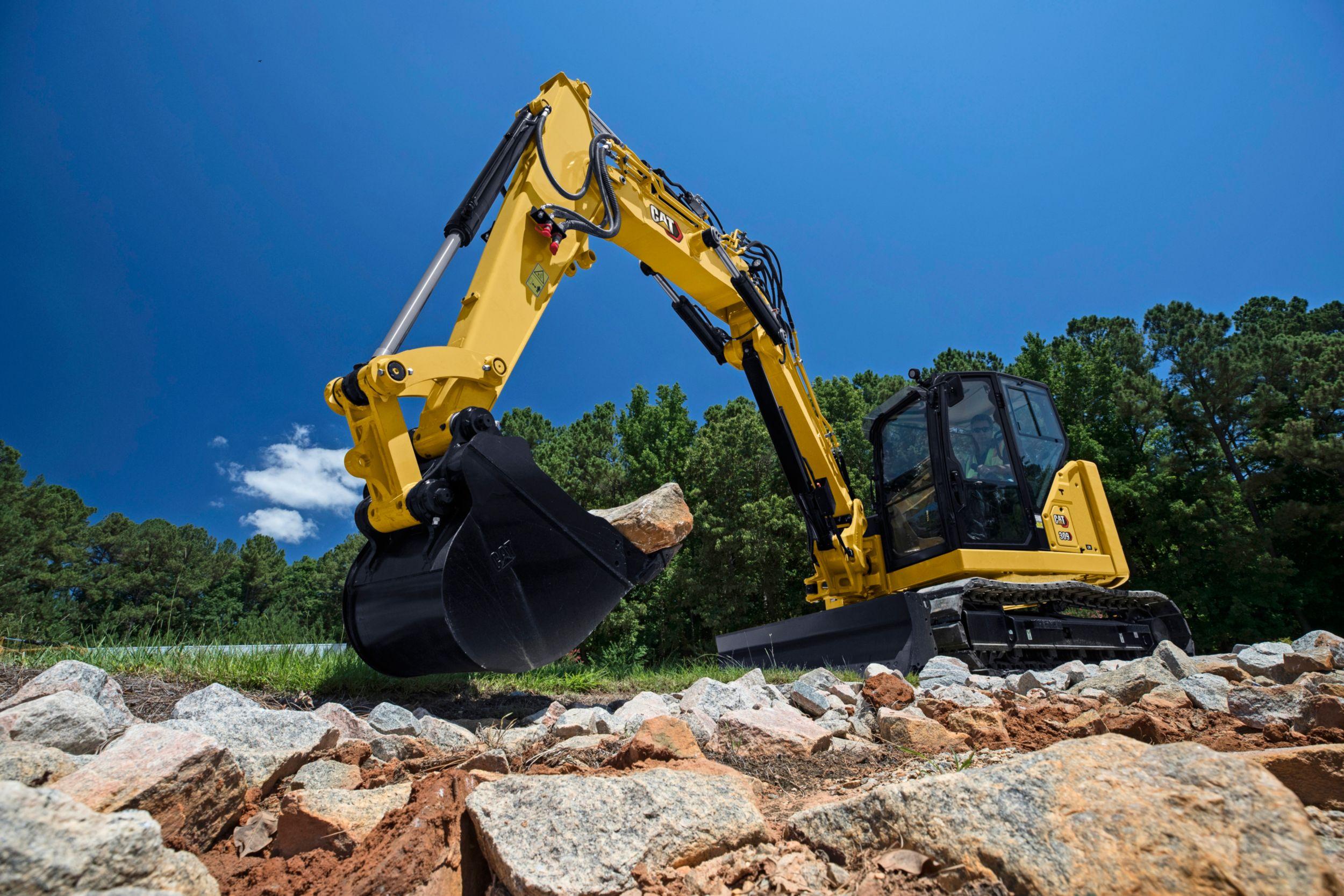 309 CR VAB Mini Hydraulic Excavator>