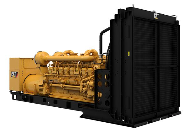3516B Diesel Generator Sets, Front Right
