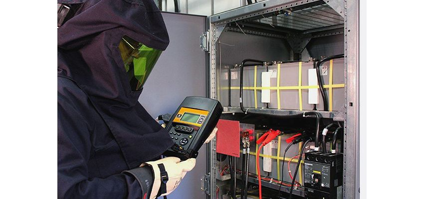 Critical power system battery testing