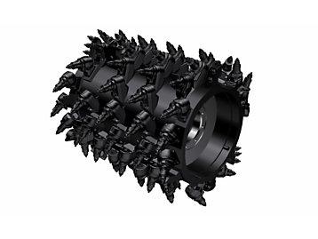 System K 1.0m Milling Drum (15mm spacing)