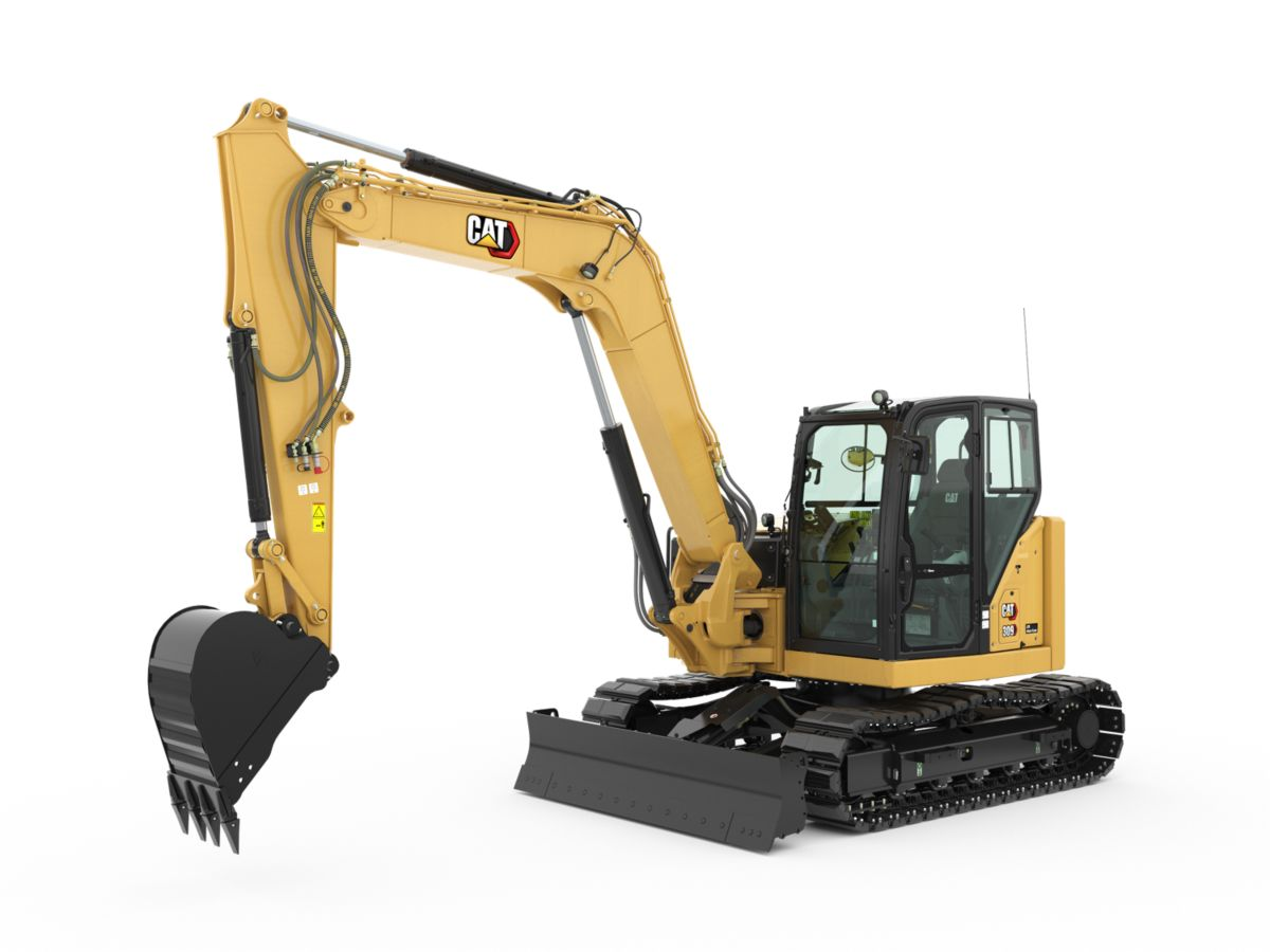 309 CR Mini Hydraulic Excavator