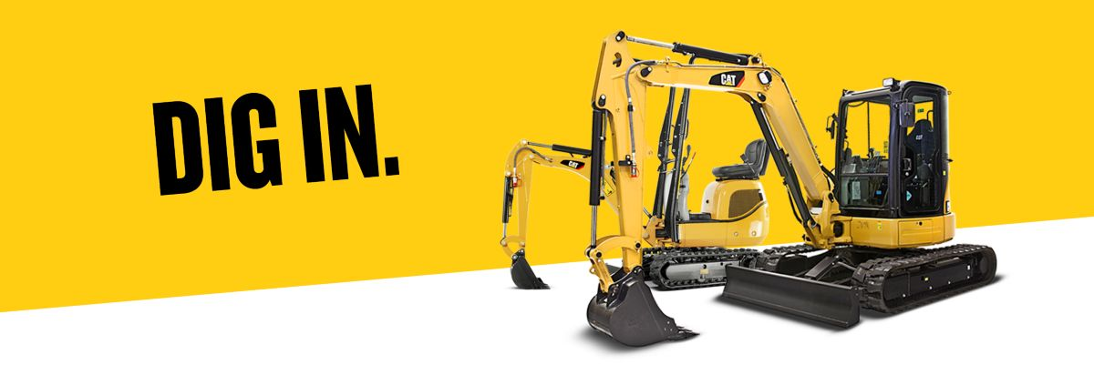 0% financing on Cat® Excavators