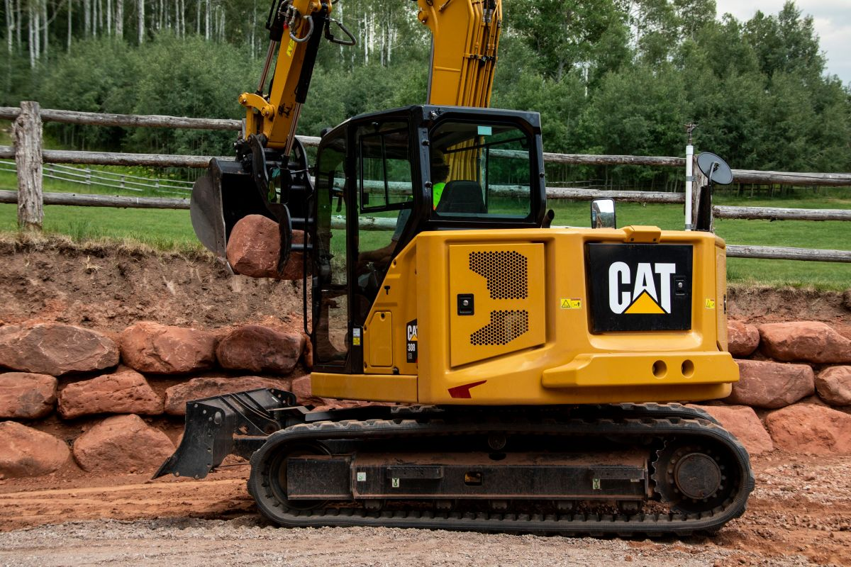 308 CR Mini Hydraulic Excavator>
