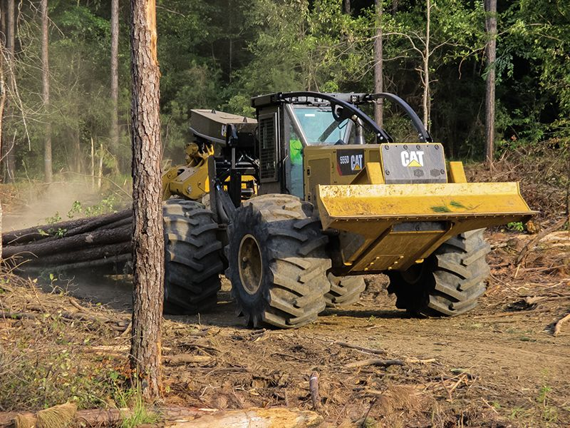 Cat | Logging Equipment | Forestry Equipment | Caterpillar