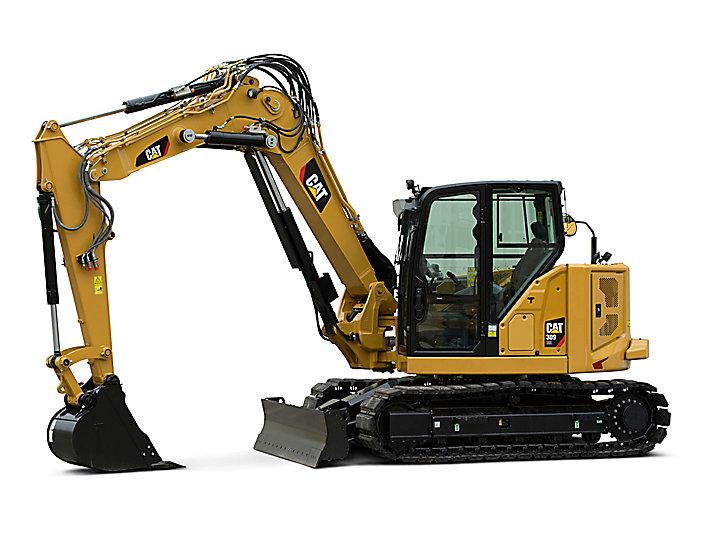 Cat | 309 CR VAB Mini Hydraulic Excavator | Caterpillar