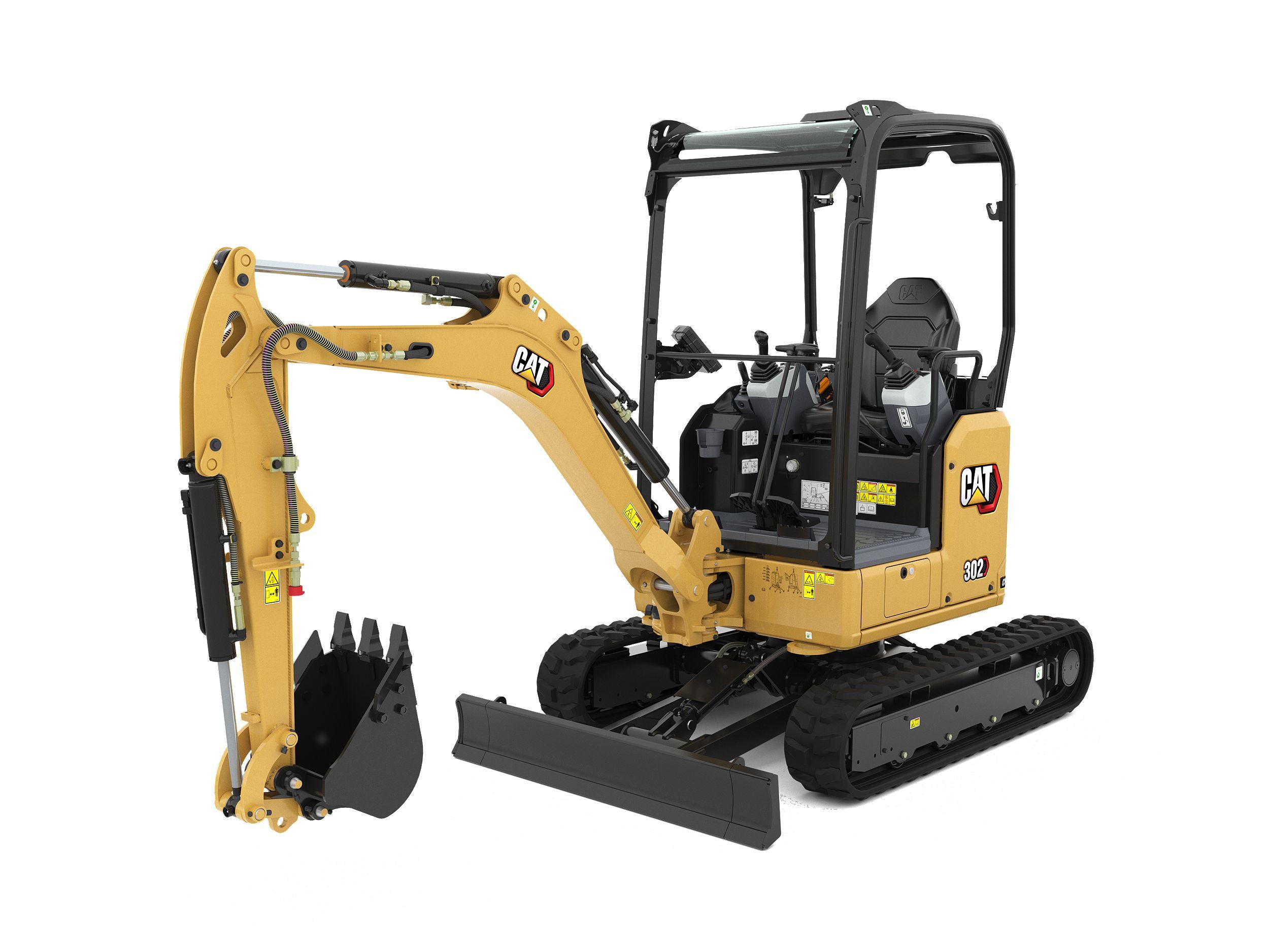 302 CR Mini Hydraulic Excavator