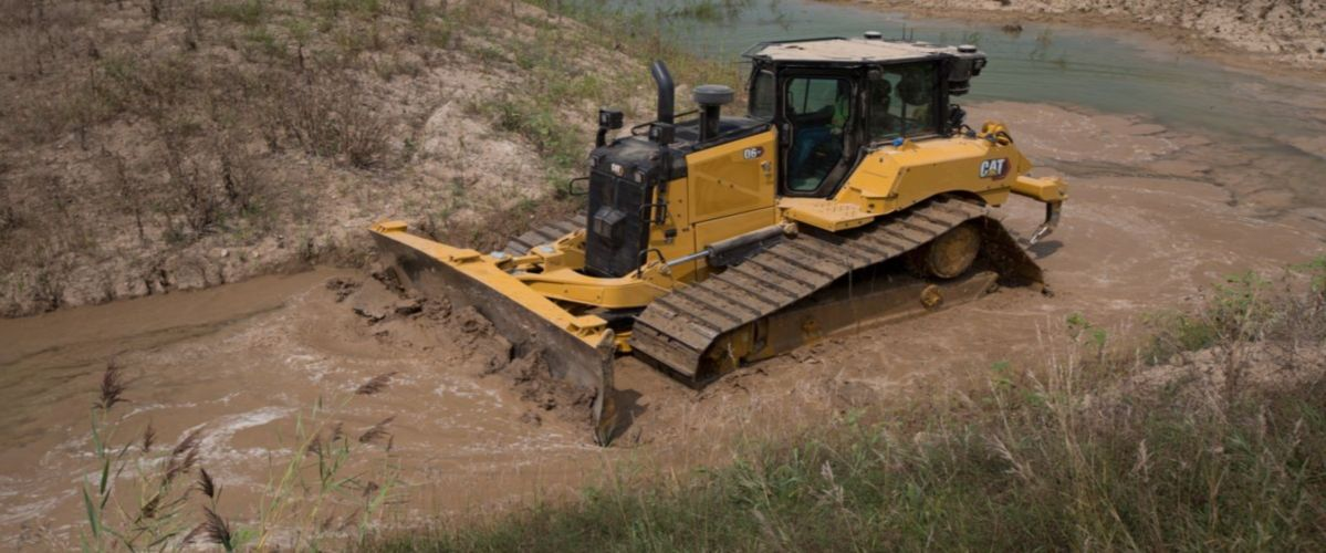 Cat | New Cat® D6 Electric Drive Dozer | Caterpillar