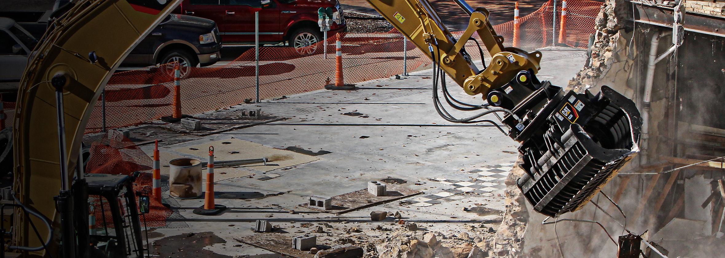 Grapple Demolition Attachments