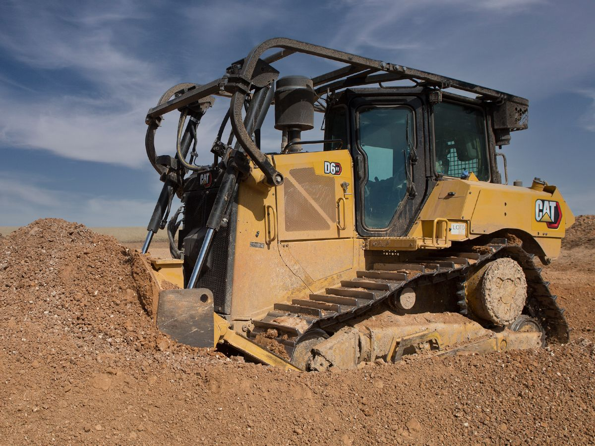 Cat D6 XE Dozer - MOVE MORE WITH LESS FUEL