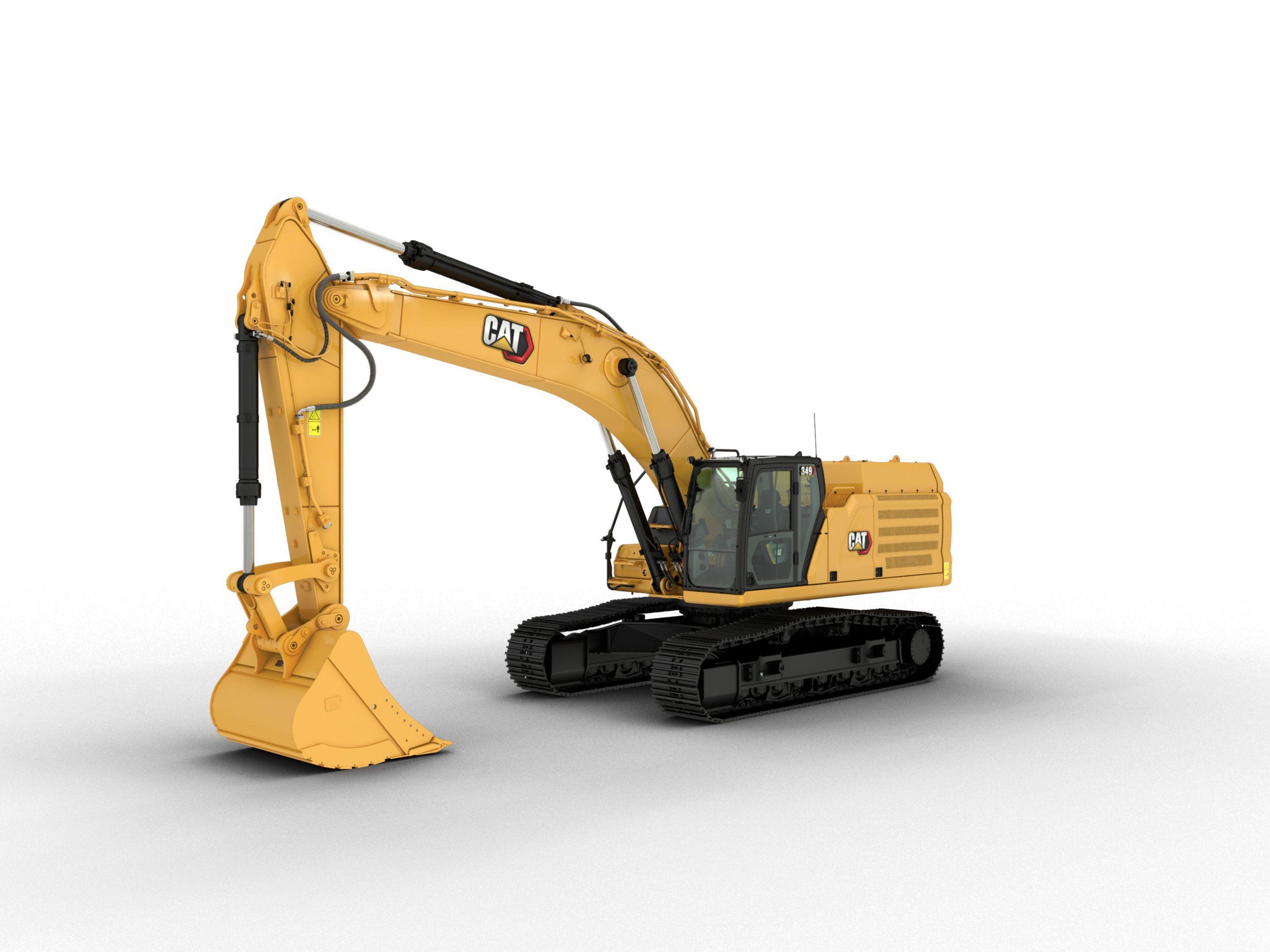 349 Hydraulic Excavator